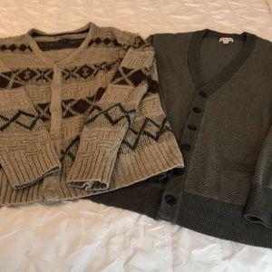 Men's cardigan bundle